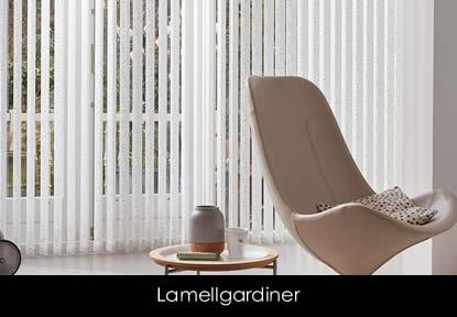 Solskjerming fra Luxaflex - lamellgardiner